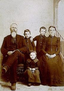 Image: John Wesley Viles family
